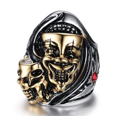 Steel, Fashion Jewelry, Goth, Stainless Steel
