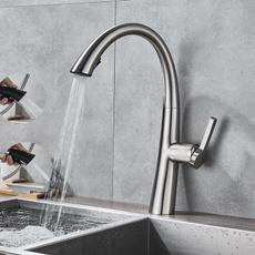 sinkfaucetsmixertap, Faucets, swivel, bathroombrassfaucet