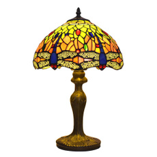dragon fly, tiffanylamp12, tiffanylampforbedroom, tiffanylightforsale
