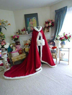 Fashion, fur, Coat, Wedding