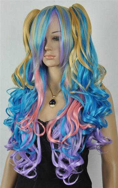 wig, Pastels, Goth, Cosplay