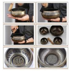 Collectibles, Religion & Spirituality, buddhism, tibetansingingbowl