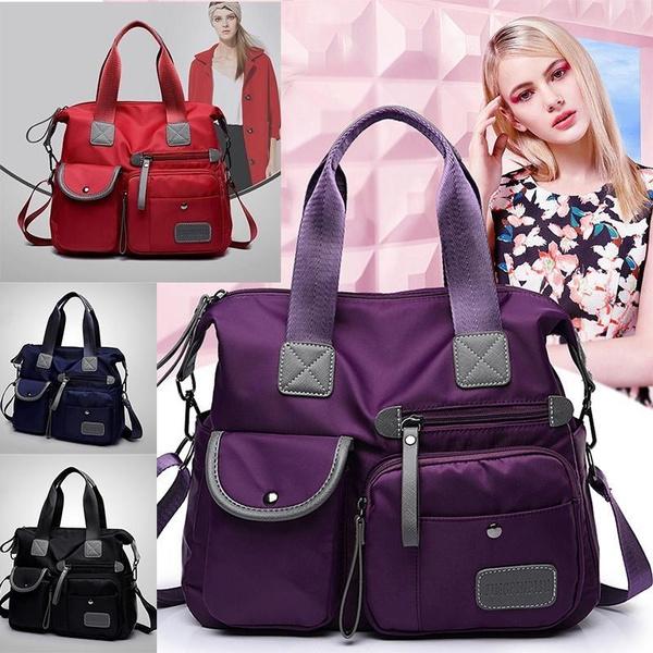 Women New Oxford Cloth Shoulder Bags Waterproof Nylon Messenger Bag Female Large Capacity Crossbody Bags Wish