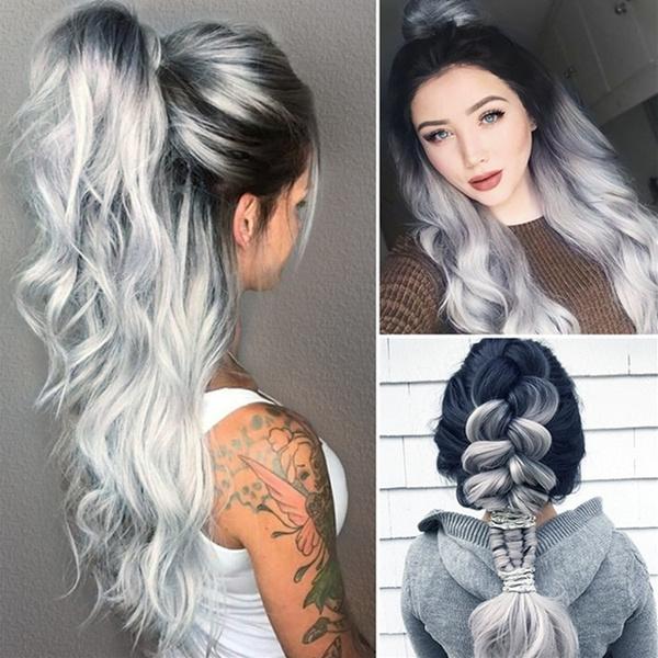 wig, graywig, Cosplay, Long wig