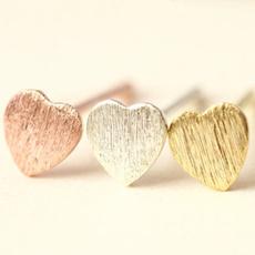 Sterling, womensfashionampaccessorie, heart earrings, gold