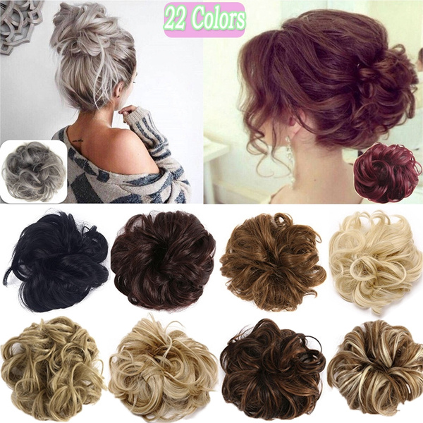 hairscrunchie, hairbun, Hair Extensions, chignonhair