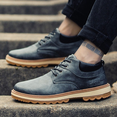 casual shoes, Outdoor, menshikingshoe, leather shoes