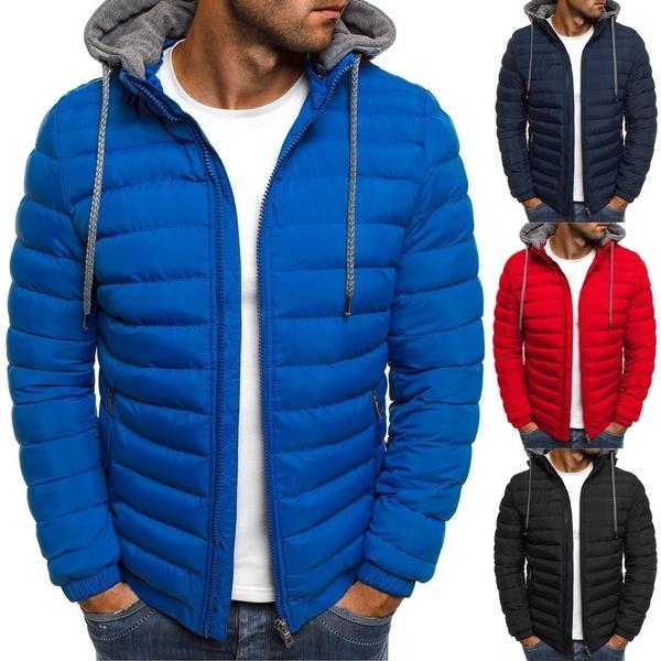 warm coat, hooded, Winter, quiltedcoat