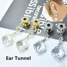DIAMOND, Dangle Earring, Jewelry, earexpander