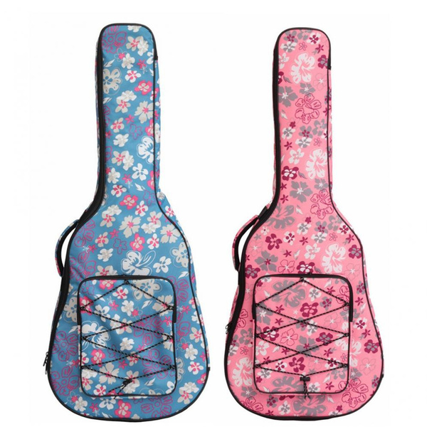 case, acousticguitarbag, Flowers, Musical Instruments