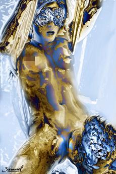 Body, Woman, art, oilpaintingprint