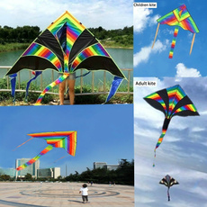 rainbow, Outdoor, kite, Colorful