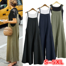 Summer, trousers, Tank, Casual pants