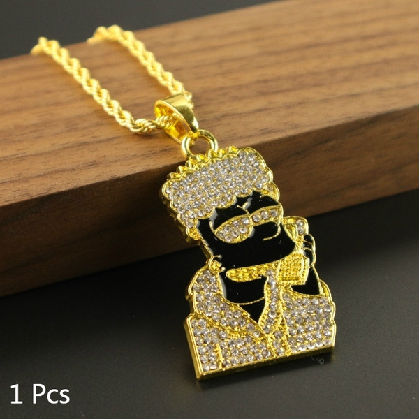 hiphoppendantnecklace, Jewelry, Chain, mensfashionjewelry