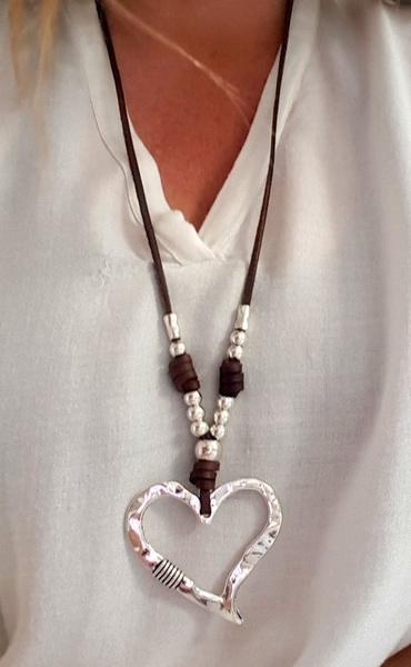 Heart, Love, energynecklace, Pendant