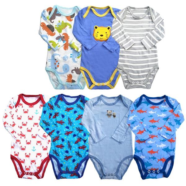 newborn, babyunderwear, oneckenvelopecollar, babyboybodysuit