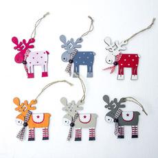xmastreehanging, pendantampdropornament, Christmas, reindeerhanging