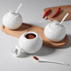 Kitchen & Dining, Kitchen & Home, sugarcanister, reliefvase