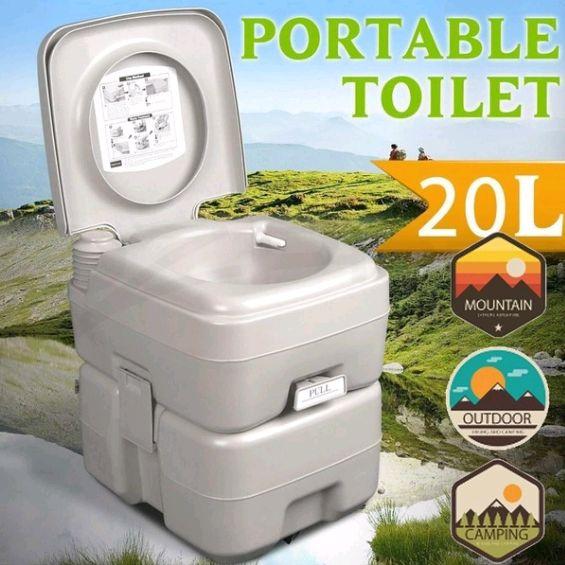 toilet, campingtoilet, camping, Travel