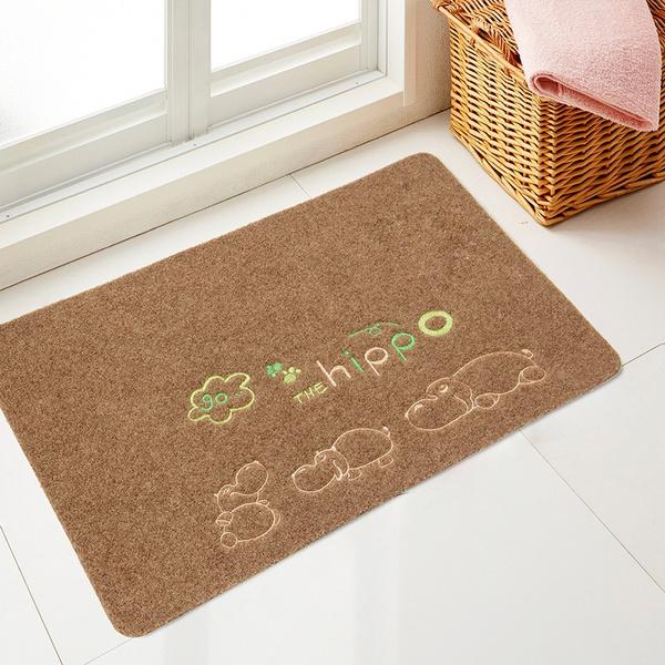 hippo, Home Decor, doormat, Simple