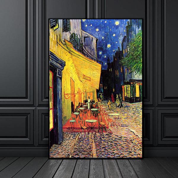 vangogh, living room, canvaspainting, antiqueoilpainting