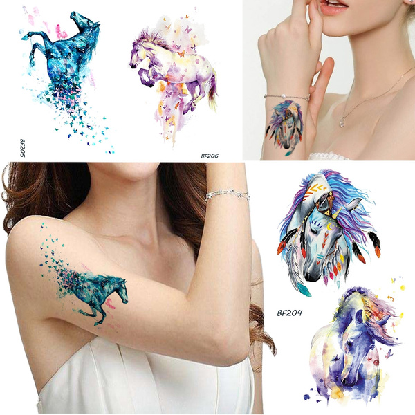 butterfly, tattoo, Tattoo sticker, art