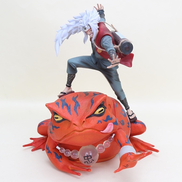 Jiraiya Gama Sennin Gamabunta Shippuden Naruto Statue Toy PVC Figure Figurine