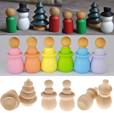 woodenpegdoll, Wood, Christmas, doll