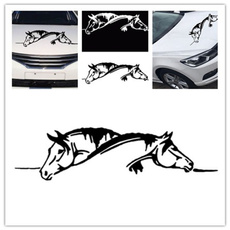 windowdecal, Funny, horse, Cars