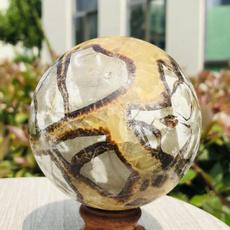septarian, polished, Crystal, Stone