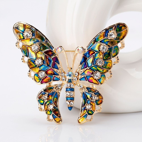 loversgift, lapelpinbadge, Jewelry, butterflyinsect