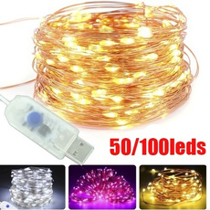 ledlightstring, Copper, christmasfairylight, led