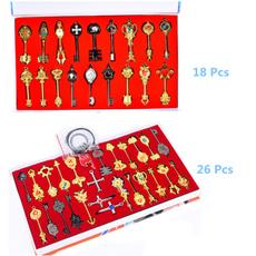 zodiacnecklace, zodiacpendant, fairytailkeychain, Jewelry