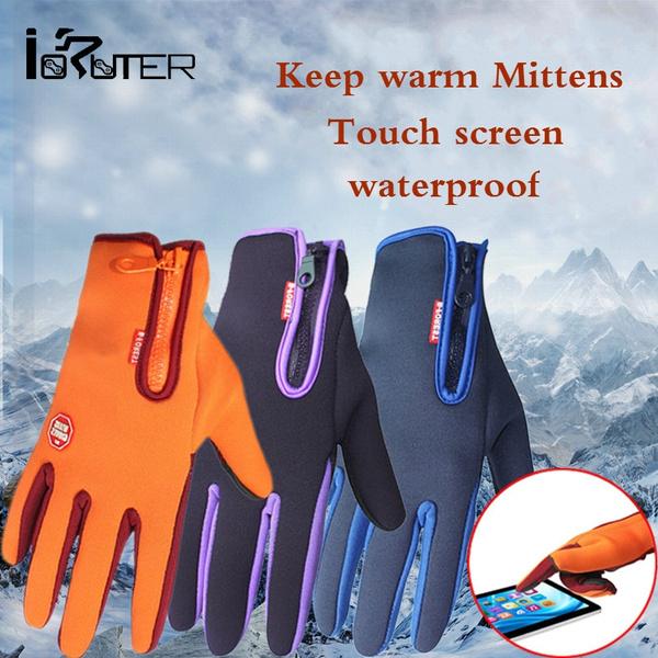 Fleece, Outdoor, Touch Screen, Winter