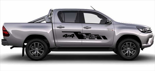 Graphic, hilux, Stickers, Toyota