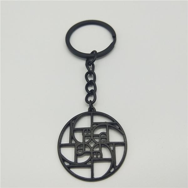 fashionkeyring, Key Chain, spiral, keyringkeychain