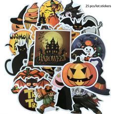 decoration, halloweendecal, Waterproof, Stickers