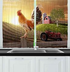 Home Decor, Farm, customshowercurtain, Kitchen & Dining