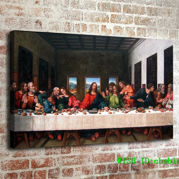 thelastsupper, Decor, handmade oil painting, Wall Art