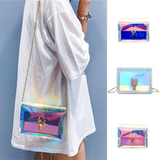 jellybag, womenstransparentbag, Pvc, Messenger Bags