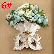 wallhangingvase, Flowers, Angel, vasewallsticker