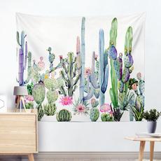 desertplant, art, Wall Art, mandalatapestry