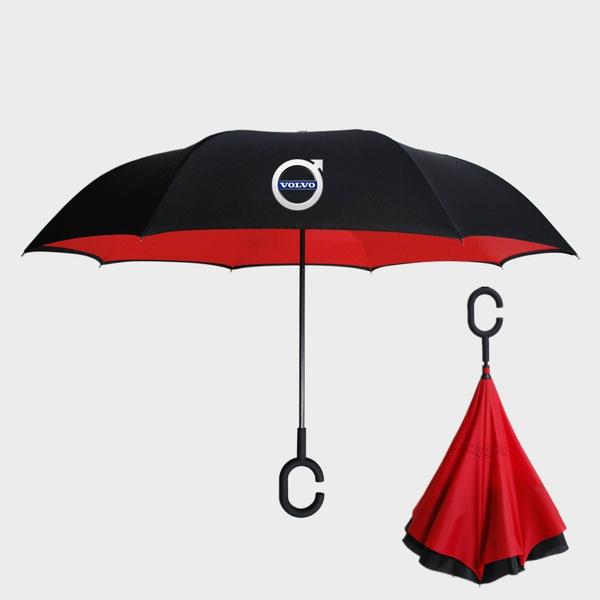 volvologo, Umbrella, longhandleumbrella, Gifts
