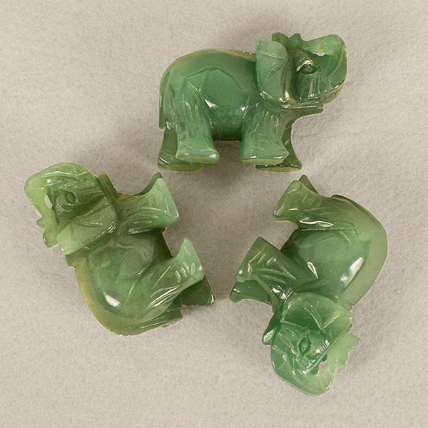 Decor, elephantstatue, Home & Living, jade