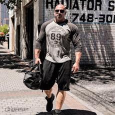 gymtshirt, Men, Sleeve, Fitness