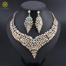 Jewelry, Bride, Rhinestone, Crystal