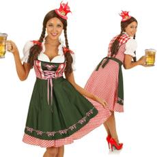 oktoberfest, Cosplay, Plaid Dress, Carnival