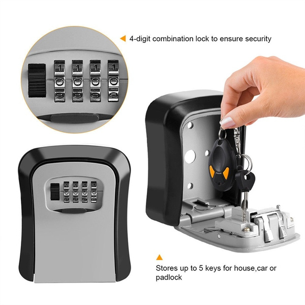 Box, keyholder, wallmounted, keybox