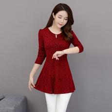 Lace, lacewarmbottomingshirt, Fashion, Shirt
