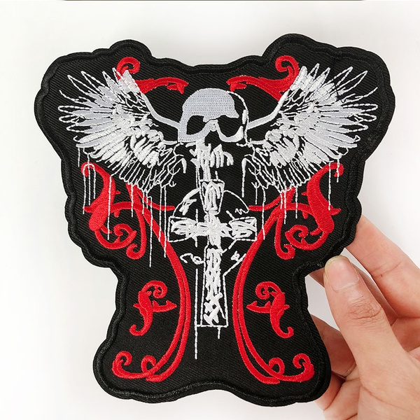 Fashion, irononapplique, Iron, skull